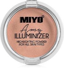 Voňavky, Parfémy, kozmetika Práškový rozjasňovač - Miyo Illuminizer Highlighting Powder