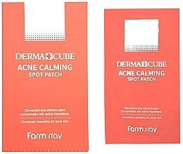 Voňavky, Parfémy, kozmetika Bodové náplasti na akné - FarmStay Derma Cube Acne Calming Spot Patch
