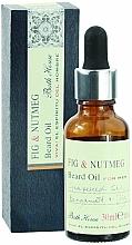 Voňavky, Parfémy, kozmetika Bath House Spanish Fig and Nutmeg - Olej na bradu