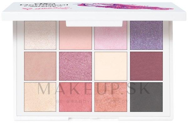 Paleta luxusných očných tieňov - Dermacol Luxury Eyeshadow Palette — Obrázky Romance