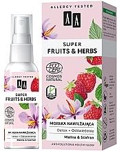 Voňavky, Parfémy, kozmetika Hydratačná hmla na tvár - AA Super Fruits & Herbs