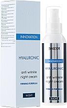 Voňavky, Parfémy, kozmetika Hyaluronický nočný krém proti vráskam so spevňujúcim zložením - BingoSpa Hyaluronic Anti Wrinkle Night Cream