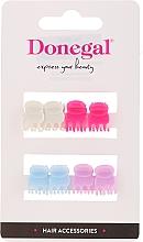 Voňavky, Parfémy, kozmetika Vlasové spony do vlasov FA-9917, Mini Mix, viacfarebné, 8 ks - Donegal Hair Clip