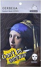 Voňavky, Parfémy, kozmetika Dvojkrokový systém na starostlivosť o tvár - Oerbeua Don't Be So Serious Mask Sheet