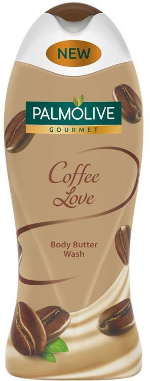 Sprchový gél - Palmolive Gourmet Coffee Love Butter Body Wash