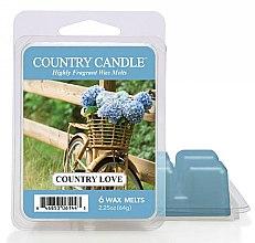 Voňavky, Parfémy, kozmetika Vosk pre aromatickú lampu - Country Candle Country Love Wax Melts