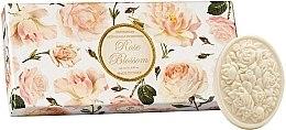 """Voňavky, Parfémy, kozmetika Súprava toaletného mydla """"Ruža"""" - Saponificio Artigianale Fiorentino Rose Blossom (Soap/3x125g)"""