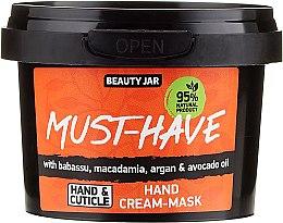 Voňavky, Parfémy, kozmetika Krémová maska na ruky - Beauty Jar Must-Have Hand Cream-Mask