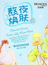 Voňavky, Parfémy, kozmetika Hydratačná maska s extraktom z lekna - BioAqua Natural Extract Mask