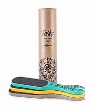 Voňavky, Parfémy, kozmetika Sada pilníkov na nohy, 80/120 - MiaCalnea Folky