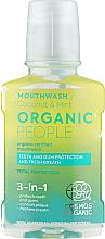 Voňavky, Parfémy, kozmetika Ústna voda 3 v 1 - Organic People Coconut And Mint
