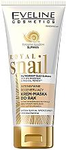 Voňavky, Parfémy, kozmetika Intenzívne regenerujúca krémová maska na ruky - Eveline Cosmetics Royal Snai