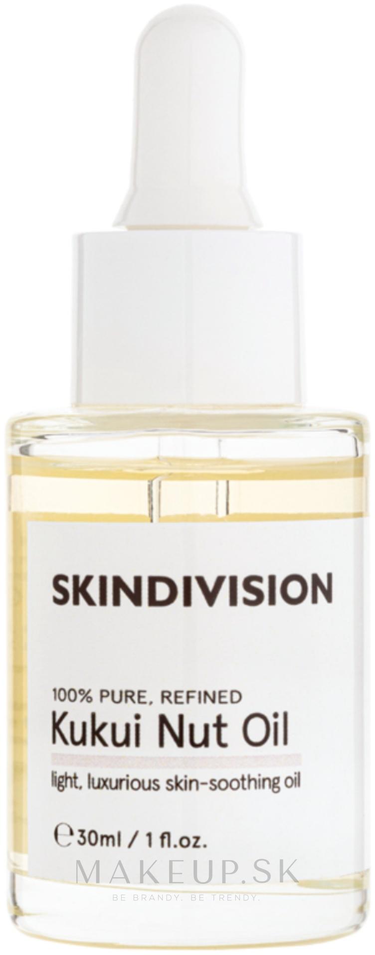 Olej z Kukui orechov - SkinDivision 100% Pure Kukui Nut Oil — Obrázky 30 ml