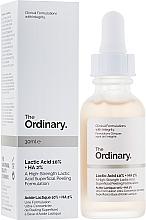 Voňavky, Parfémy, kozmetika Peeling s kyselinou mliečnou - The Ordinary Lactic Acid 10% + HA 2%