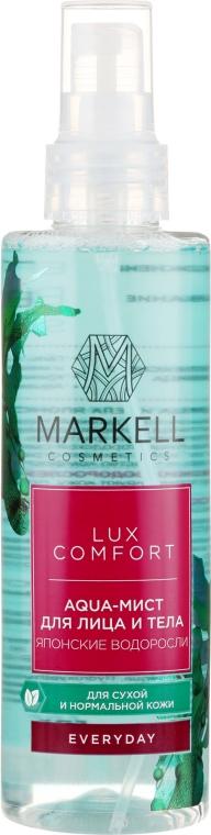 """Aqua-Mist na tvár a telo """"Japonské morské riasy"""" - Markell Cosmetics Lux-Comfort"""