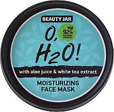 Voňavky, Parfémy, kozmetika Hydratačná maska na tvár - Beauty Jar O,H2O Moisturizing Face Mask