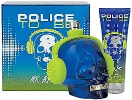 Voňavky, Parfémy, kozmetika Police To Be Mr Beat - Sada (edt/75ml + sh/gel/100ml)