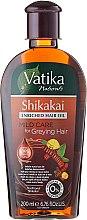 Voňavky, Parfémy, kozmetika Olej na vlasy - Dabur Vatika Indian Acacia Enriched Hair Oil Mild Care For Greying Hair