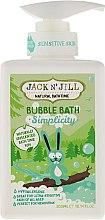 """Voňavky, Parfémy, kozmetika Detská kúpeľová pena """"Natural"""" - Jack N' Jill Bubble Bath Simplicity"""