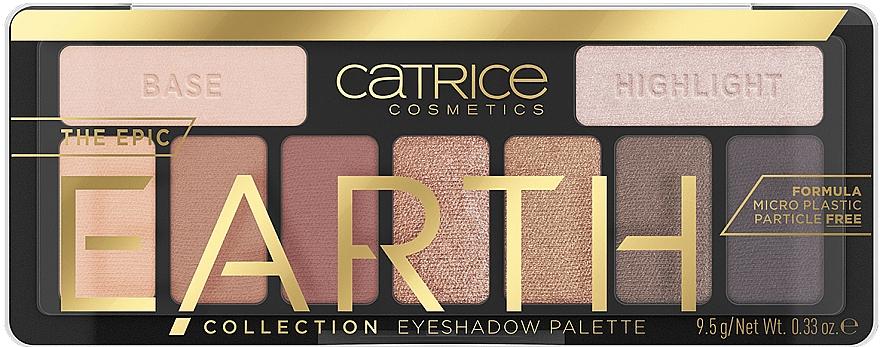 Paleta očných tieňov - Catrice The Epic Earth Collection Eyeshadow Palette