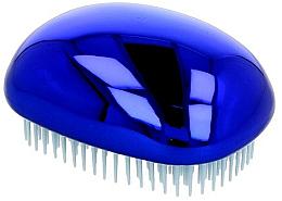 Voňavky, Parfémy, kozmetika Kefa na vlasy, lesklá modrá - Twish Spiky 3 Hair Brush Shining Blue