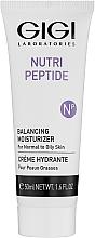 Voňavky, Parfémy, kozmetika Peptidový krém pre mastnú a kombinovanú pleť - Gigi Nutri-Peptide Balancing Moisturizer Oily Skin