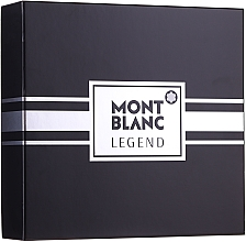 Voňavky, Parfémy, kozmetika Montblanc Legend - Sada (edt/100ml+ash/balm/100ml+edt/mini/7.5ml)