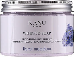 "Voňavky, Parfémy, kozmetika Peelingové mydlo ""Kvetinová lúka"" - Kanu Nature Floral Meadow Peeling Soap"