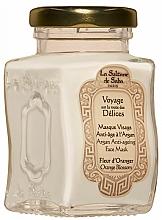 Voňavky, Parfémy, kozmetika Maska na tvár - La Sultane De Saba Bio Argan & Orange Blossom Argan Anti-Ageing Face Mask Orange Blossom