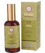 """Voňavky, Parfémy, kozmetika Ajurvédsky olej na vlasy """"Amla"""" - Khadi Hair Oil"""