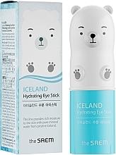Voňavky, Parfémy, kozmetika Hydratačná tyčinka s ľadovcovou vodou na pokožku okolo očí - The Saem Iceland Hydrating Eye Stick