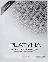 "Voňavky, Parfémy, kozmetika Maska na tvár ""Platinum"" - Conny Platinum Essence Mask"