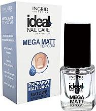 Voňavky, Parfémy, kozmetika Matný lak na nechty - Ingrid Cosmetics Ideal+ Nail Care Definition Mega Matt Top Coat