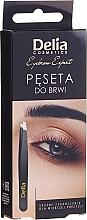 Voňavky, Parfémy, kozmetika Pinzeta na obočie - Delia Cosmetics Eyebrow Expert