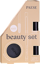 Voňavky, Parfémy, kozmetika Sada - Paese (mascara/13ml + eyeliner/0.31g + eyeshadow/3g)