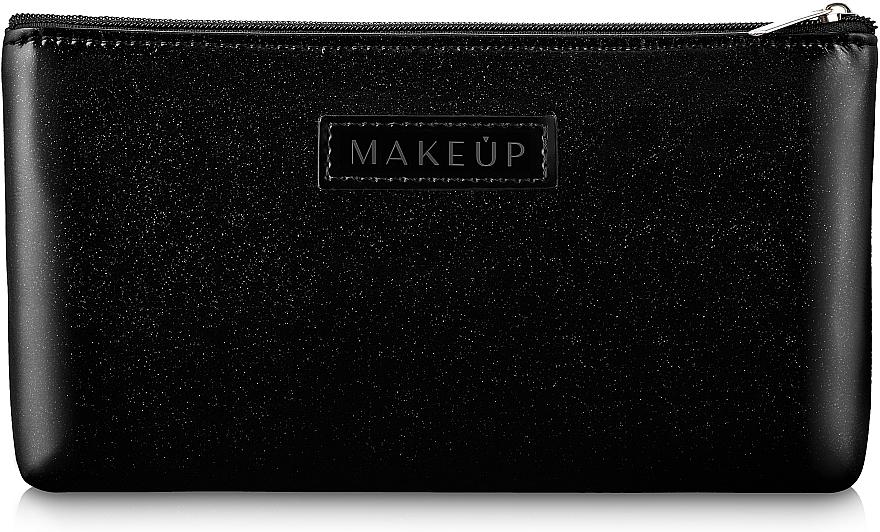 """Kozmetická taška čierna, plochá """"Black Galaxy"""" - Makeup"""