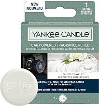 Voňavky, Parfémy, kozmetika Rozptyľovač arómy do auta - Yankee Candle Car Powered Fragrance Refill Fluffy Towels (vymeniteľná jednotka)