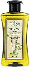 """Voňavky, Parfémy, kozmetika Šampón na vlasy """"Veľký objem"""" s keratínom a medovým extraktom - Melica Organic Volume Shampoo"""