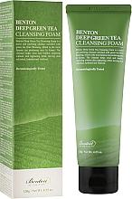 Voňavky, Parfémy, kozmetika Čistiaca pena s extraktom zo zeleného čaju - Benton Deep Green Tea Cleansing Foam