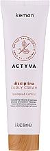 Voňavky, Parfémy, kozmetika Krém na kučeravé vlasy - Kemon Actyva Disciplina Curly Cream