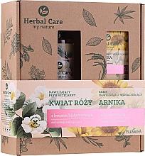 Voňavky, Parfémy, kozmetika Sada - Farmona Herbal Care Arnica & Rose Flower (f/cr/50ml + micellar water/400ml)