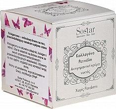 Voňavky, Parfémy, kozmetika Nočný krém proti vráskam s kolagénom a retinolom - Sostar Collagen Retinol Anti-Wrinkle Night Cream