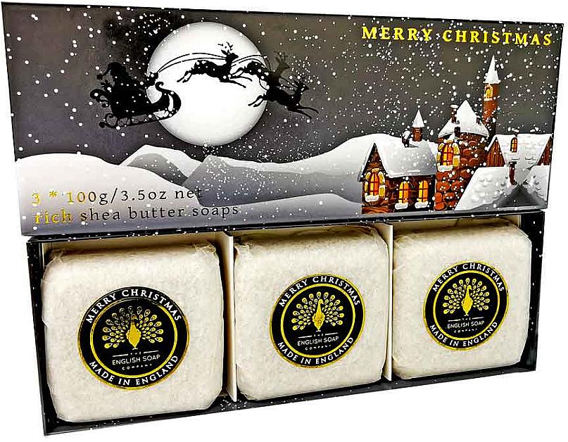 """Mydlo """"Zasnežená dedina"""" - The English Soap Company Winter Village Hand Soap"""