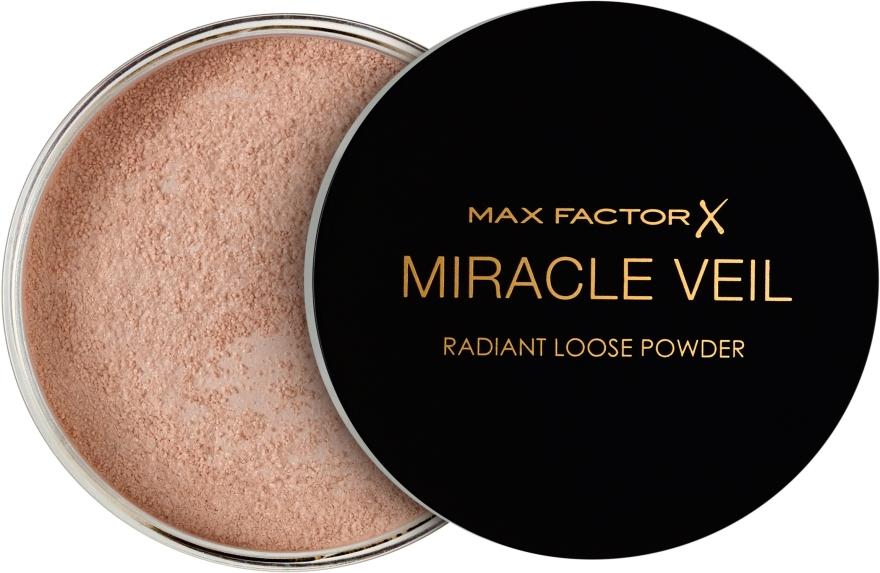 Sypký púder - Max Factor Miracle Veil Radiant Loose Powder