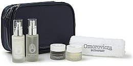 Voňavky, Parfémy, kozmetika Sada - Omorovicza Essentials (tonic/30ml + balm/15 ml + f/cr/15ml + f/cr/15ml + towel + bag)