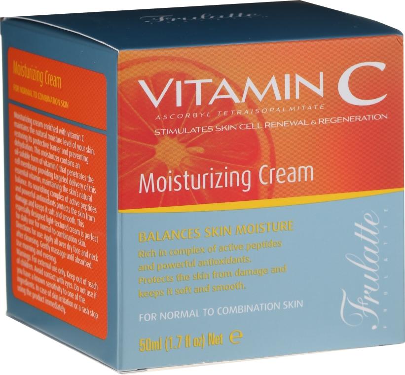 Hydratačný krém s vitamínom C - Frulatte Vitamin C Moisturizing Cream