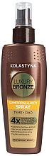 Voňavky, Parfémy, kozmetika Samoopaľovací sprej na tvár a telo - Kolastyna Luxury Bronze Tanning Spray