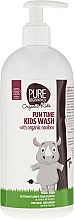 Voňavky, Parfémy, kozmetika Gel na umývanie tela - Pure Beginnings Fun Time Kids Wash With Organic Rooibos