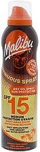 Voňavky, Parfémy, kozmetika Opaľovací suchý olej na telo - Malibu Continuous Dry Oil Spray SPF 15