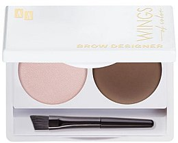 Voňavky, Parfémy, kozmetika Paleta na modelovanie obočí - AA Cosmetics Wings Of Color Brow Designer